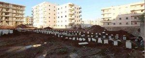 Efrîn'dekicenazeler başka mezarlıklaragötürüldü