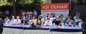 Amed'de 'aşı' seferberliği
