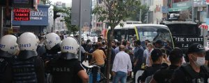 Katliam protestosuna 3 tutuklama