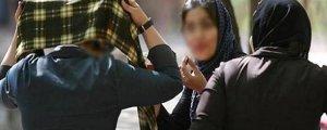 Başını tam örtemeyen kadına şiddet