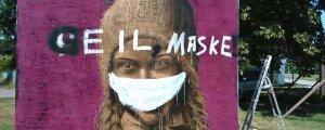 Greta'ya 'beyaz maskeli' saldırı