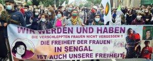 Diasporada Kürtler Şengal için alanlarda