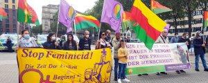 Şengal protestosu: NATO ödüyor, TC bombalıyor