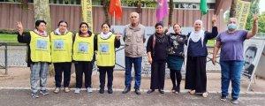 Nöbet eylemini SMJÊ aktivistleri devraldı