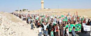 Rojava'nın diplomasi trafiği