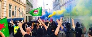 'Türk faşizmine geçit yok' yürüyüşü