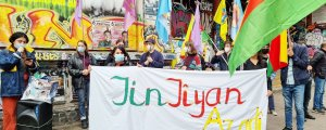 Hamburg ve Köln'de Öcalan eylemleri
