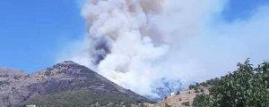 Yangın köylereilerliyor