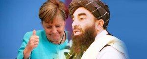 Taliban: Merkel'i candan karşılarız
