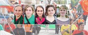 Enternasyonalist gençler Öcalan için eylemde