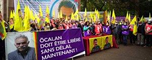 KCDK-E, Ekim'i 'Öcalan'a  Özgürlük Ayı' olarak karşılıyor