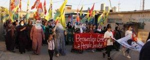 Mexmûr ve Lavrio'dayürüyüşle sonlandırıldı