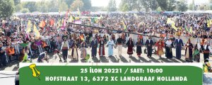 Mücadele ruhu ile Kürt Kültür Şöleni'ne