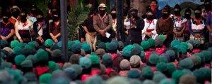 Chiapas iç savaşın eşiğinde