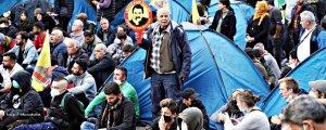 Kürt'ün çadırına da tahammülleri yok