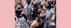 50 eyalette kürtaj hakkı yürüyüşü