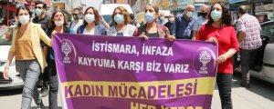 Kadınlar Agirî'de yürüdü: Tecavüz bir AKP politikası