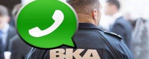 Alman polisi WhatsApp'ı okuyabilecek