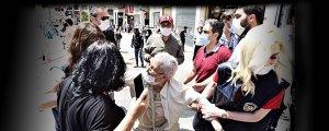 Polis, Cumartesi Anneleri'ne saldırdı