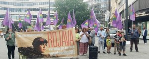 Üç kentte protesto eylemi