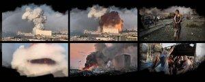 Beyrut'ta kıyamet dehşeti