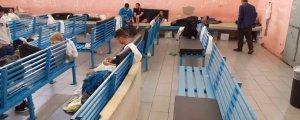 Sığınmacılar açlık grevine başladı