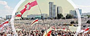 200 bin kişi 'Lukaşenko git' dedi