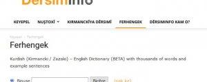 Ferhengeke online
