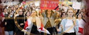 Kadınlar Lukaşenko'nun istifasını istedi
