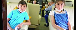 2 zarokên Êzdî li Tirkiyê