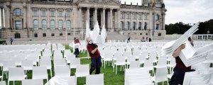 13 bin mülteci için 13 bin sandalye