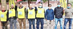 Nöbet eylemini Frankfurt grubu devraldı