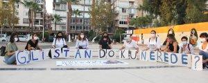 Mersin'de Gülistan Doku eylemi