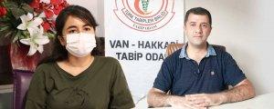 Van ve Amed'de günlük 400 vaka