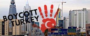 Suudi Arabistan'dan Türk boykotu