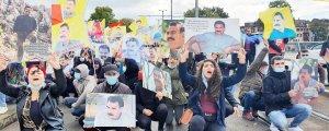 Onlarca merkezde Öcalan eylemi