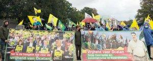 Den Haag'da saldırılar protesto edildi