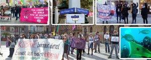 Bilbao'dan Sydney'e: Dünya Kobanê Günü