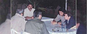 Öcalan ile Eylül 1998'de Şam'da