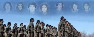 Kürdistan'da kadın gerillacılığının öncü kahramanları