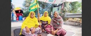 Hindistan'da protestoların arkasındaki kadınlar