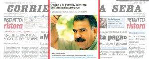 İtalyan gazeteden Öcalan'lı yanıt