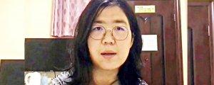 Çinli gazeteciye koronadan 4 yıl hapis
