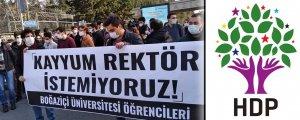 HDP: Öğrencilerin yanındayız