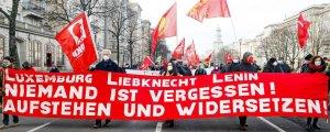Rosa Luxemburg ve Karl Liebknecht anıldı