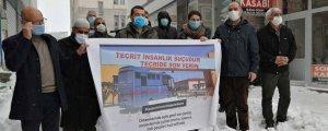 Karlıova ve Karakoçan'datutsaklara destek eylemi