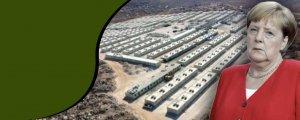 Merkel'in Suriye'dekibriket evleri