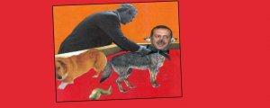 Erdoğan'ın köpekliği kolajı AİHM'de suç görülmedi