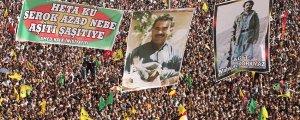 Newroz finali Önder Apo'nun özgürlük zamanı