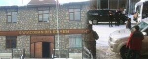 Karaçoban'da gasp hazırlığı